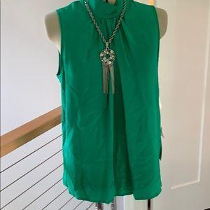 NWT vintage Adrianna Papell 100% silk blouse 12